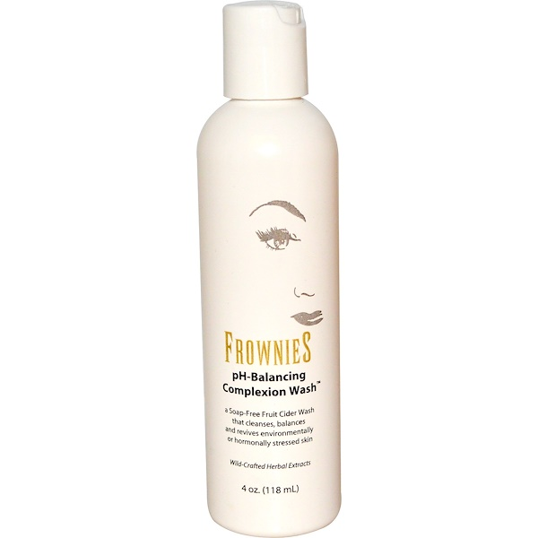 Frownies, pH-Balancing Complexion Wash, 4 oz (118 ml) (Discontinued Item)