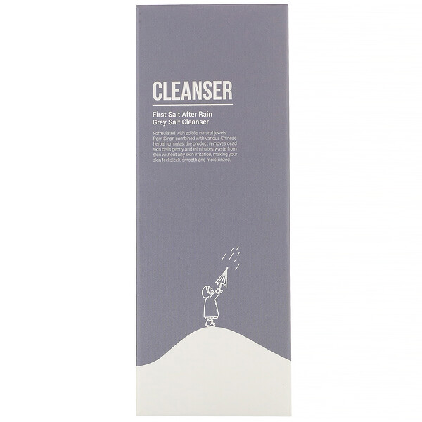 Grey Salt Cleanser, 150 g