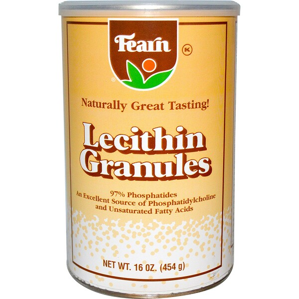 Fearn Natural Food, Lecithin Granules, 16 oz (454 g) (Discontinued Item)