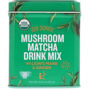 Фор Сигматик, Mushroom Matcha Drink Mix, 2.12 oz (60 g) отзывы