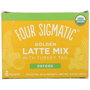 Фор Сигматик, Golden Latte Mix with Turkey Tail, 10 Packets, 0.21 oz (6 g) Each отзывы