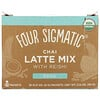 Four Sigmatic, Chai Latte Mix with Reishi, 10 Packets, 0.21 oz (6 g) Each