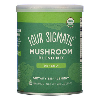 Four Sigmatic, смесь экстрактов грибов, 60г (2,12унции)