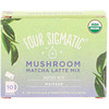 Four Sigmatic, Mushroom Matcha Latte Mix, 10 Packets, 0.21 oz (6 g) Each