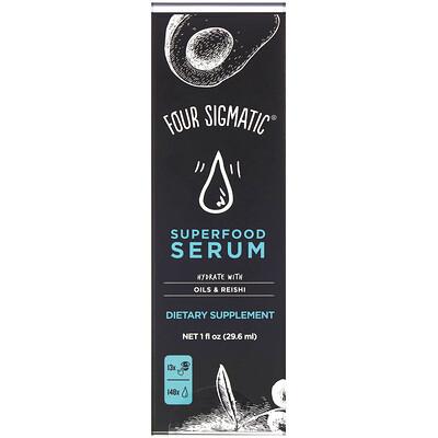 Купить Four Sigmatic Superfood Serum, Hydrate with Oils & Reishi, 1 fl oz (29.6 ml)