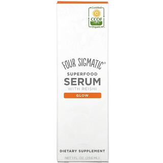Four Sigmatic, Superfood Serum with Reishi, Citrus + Floral , 1 fl oz (29.6 ml)