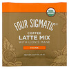 Four Sigmatic, Coffee Latte Mix with Lion's Mane, 10 Packets, 0.21 oz (6 g) Each