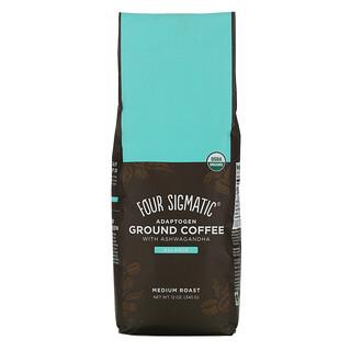 Four Sigmatic, Adaptogen Ground Coffee with Ashwagandha,中度烘焙,12 盎司(340 克)