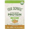 フォー・シグマティック, Plant-Based Protein with Superfoods, Peanut Butter, 10 Packets, 1.41 oz (40 g) Each