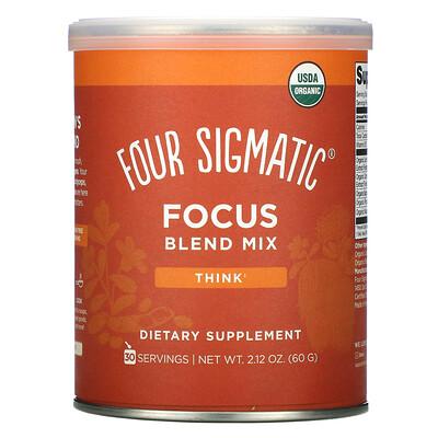 Купить Four Sigmatic Focus Blend Mix, 2.12 oz (60 g)