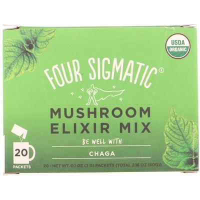Фото - Чага, смесь для приготовления грибной настойки, 20пакетиков по 3г (0,1унции) aminolean смесь для приготовления энергетических напитков фруктовый пунш 270 г 9 52 унции