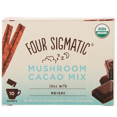 Купить Грибная смесь для приготовления горячего какао, 10 пакетиков, 0, 2 унц. (6 г) каждый