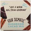 Four Sigmatic, Mushroom Cacao Mix, Sweet+ Cinnamon, 10 Packets, 0.2 oz (6 g) Each