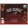 Four Sigmatic, Mushroom Coffee Mix, Rich + Smooth, 10 Packets, 0.09 oz (2.5 g) Each