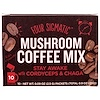 Four Sigmatic, Mushroom Coffee With Cordyceps, 10 Packets, 0.09 oz (2.5 g) Each
