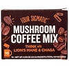 Four Sigmatic, Mushroom Coffee Mix, Think With Lion's Mane & Chaga, 10 Packets, 0.09 oz (2.5 g) Each