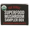 Four Sigmatic, Superfood Mushroom Sampler Box, 8 Mushroom Drink Packets (Discontinued Item)