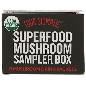 Фор Сигматик, Superfood Mushroom Sampler Box, 8 Mushroom Drink Packets отзывы покупателей