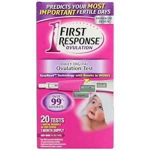 First Response, Daily Digital Ovulation, 20 Tests отзывы