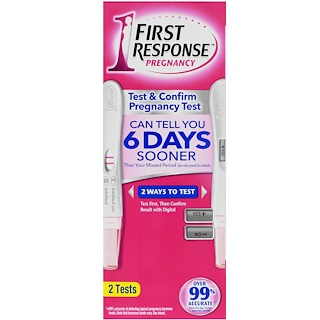 First Response, Test & Confirm Pregnancy, 2 Tests