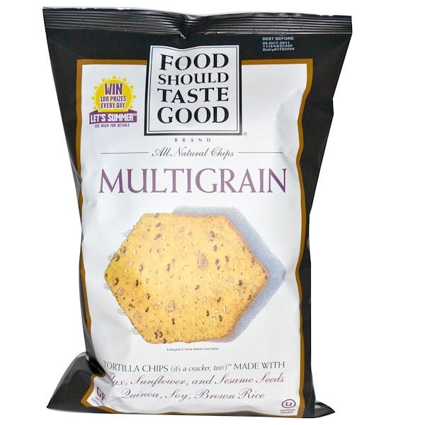 Food Should Taste Good, All Natural Chips, Multigrain, 5.5 oz (156 g) (Discontinued Item)