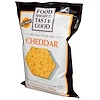 Food Should Taste Good, All Natural Tortilla Chips, Cheddar, 5.5 oz (156 g)