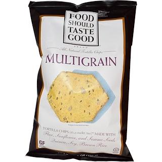 Food Should Taste Good, All Natural Tortilla Chips, Multigrain, 5.5 oz (156 g)
