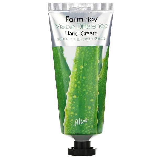 Visible Difference Hand Cream, Aloe, 100 g