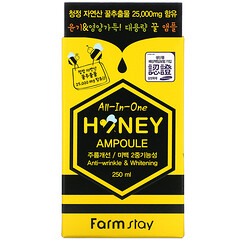 Farmstay, All-In-One Honey Ampoule, 250 ml