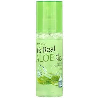 Farmstay, It's Real Aloe Gel Mist, 120 ml