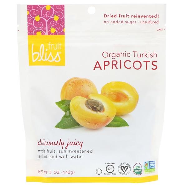 Fruit Bliss, オーガニック・ターキッシュアプリコット、5 oz (142 g)