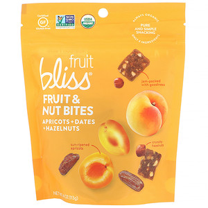 Fruit Bliss, Fruit & Nut Bites, Apricot + Dates + Hazelnuts, 4 oz (113 g) отзывы