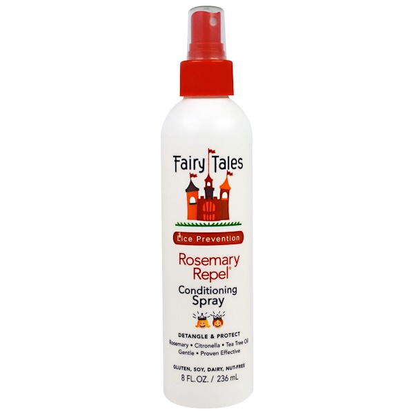 Fairy Tales, Rosemary Repel, Lice Prevention, 8 fl oz (236 ml) (Discontinued Item)
