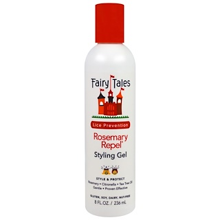 Fairy Tales, Rosemary Repel, Styling Gel, 8 fl oz (236 ml)