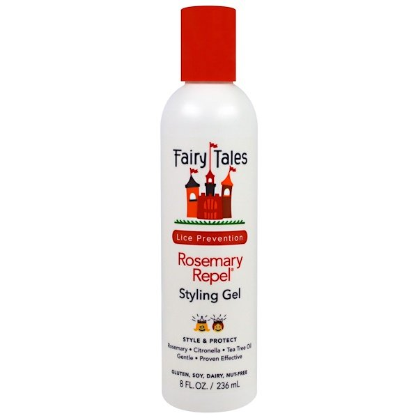 Fairy Tales, Rosemary Repel, Styling Gel, 8 fl oz (236 ml) (Discontinued Item)