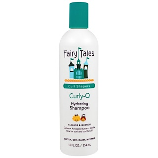 Fairy Tales, Curly-Q, Hydrating Shampoo, 12 fl oz (354 ml)