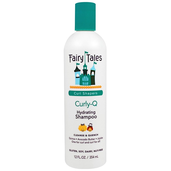 Fairy Tales, Curly-Q, Hydrating Shampoo, 12 fl oz (354 ml) (Discontinued Item)