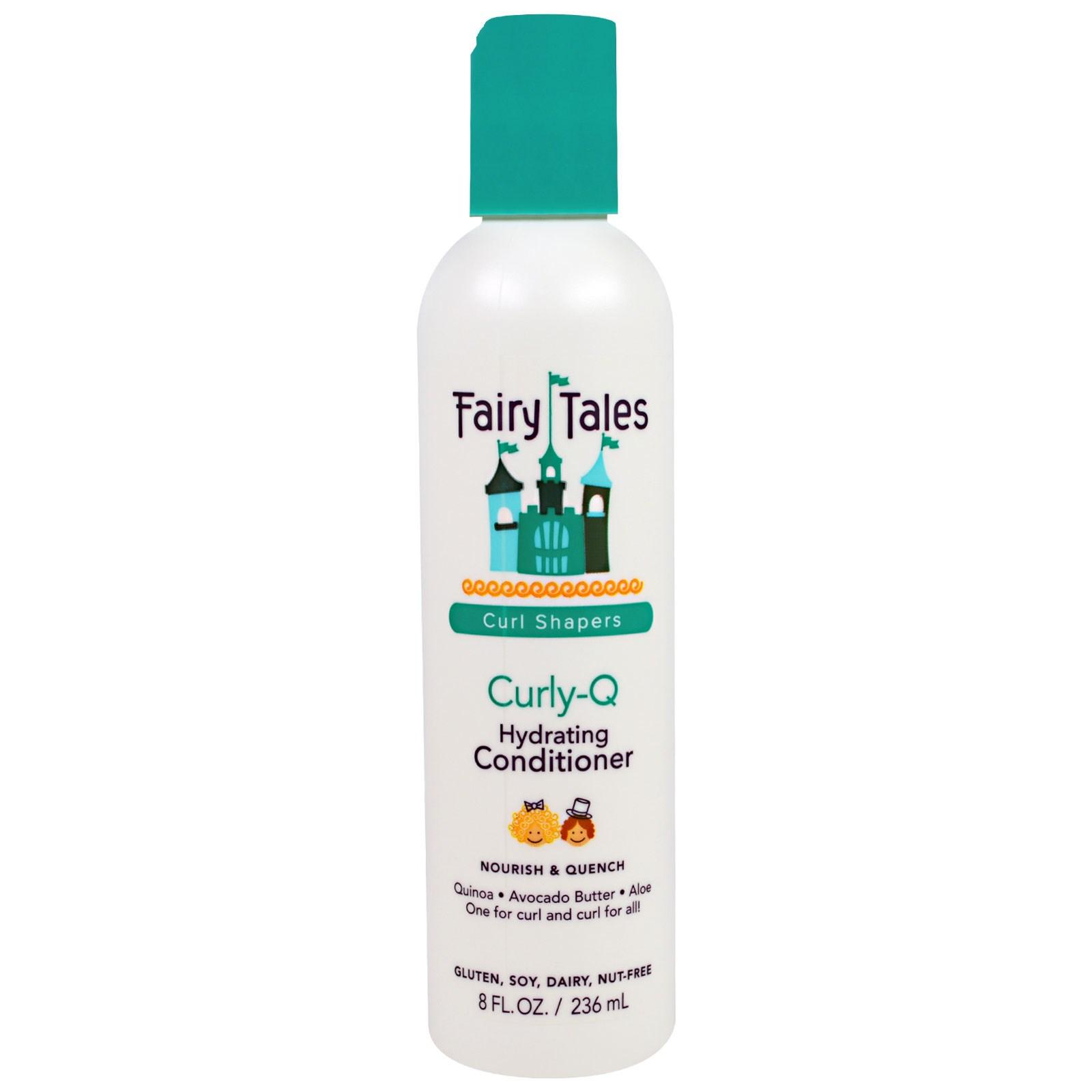 "Fairy Tales, ""Кудри-Q"", увлажняющий кондиционер для вьющихся волос, 8 жидких унций (354 мл)"