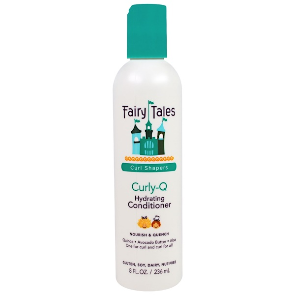 Fairy Tales, Curly-Q, Hydrating Conditioner, 8 fl oz (236 ml) (Discontinued Item)