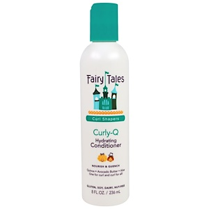 Фэйри тэйлс, Curly-Q, Hydrating Conditioner, 8 fl oz (236 ml) отзывы покупателей