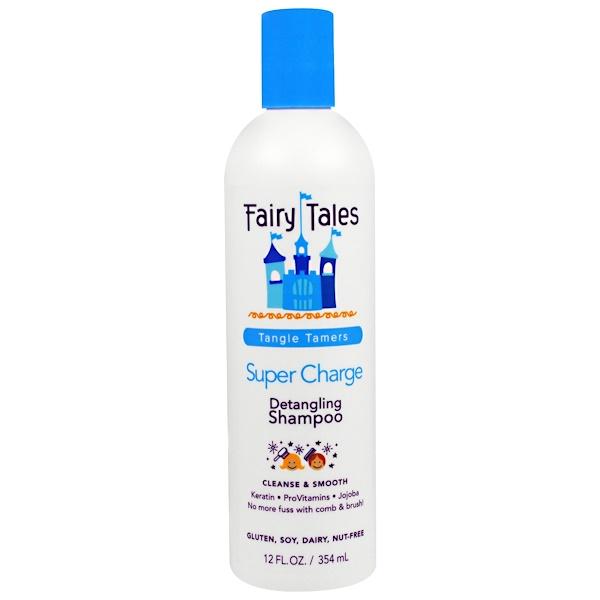 Fairy Tales, Detangling Shampoo, Super Charge, Tangle Tamers, 12 fl oz (354 ml) (Discontinued Item)