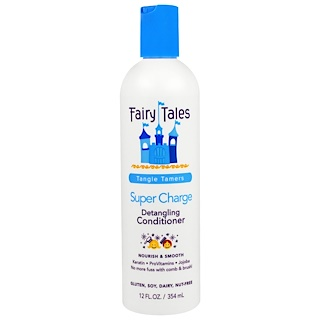 Fairy Tales, Detangling Conditioner, Super Charge, Tangle Tamers, 12 fl oz (354 ml)