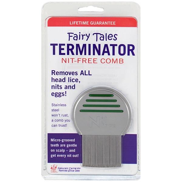 Fairy Tales, Terminator, Nit-Free Comb, 1 Comb (Discontinued Item)
