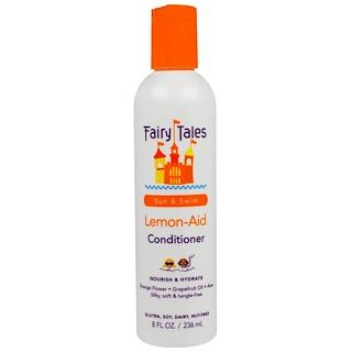 "Fairy Tales, ""Лимонная помощь"", питающий и увлажняющий кондиционер для волос, 8 жидких унций (236 мл)"