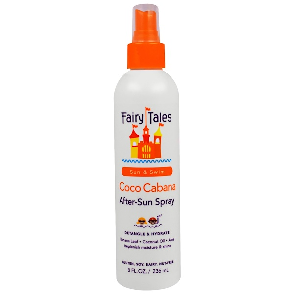 Fairy Tales, Coco Cabana, After-Sun Spray, 8 fl oz (236 ml) (Discontinued Item)