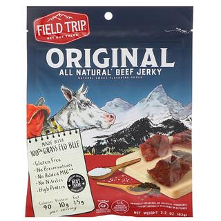 Field Trip Jerky, All Natural Beef Jerky, Original, 2.2 oz (62 g)