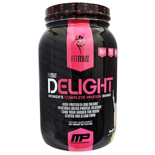 FitMiss, Delight, Women's Complete Protein Shake, Vanilla Chai, 2 lbs (907 g)