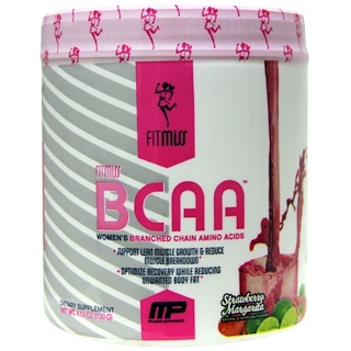 FitMiss, BCAA, Women's Branched Chain Amino Acids, Strawberry Margarita, 5.6 oz (159 g)