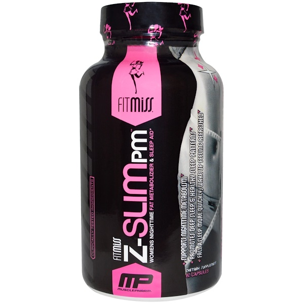 FitMiss, Z-Slim PM, 60 Capsules (Discontinued Item)