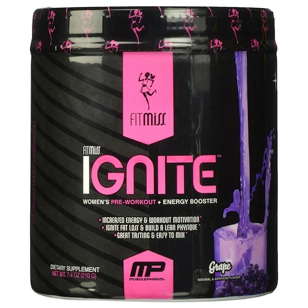 FitMiss, Ignite, Grape, 7.4 oz (210 g) (Discontinued Item)